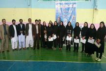رقابت های ووشو قهرمانی سیستان و بلوچستان در ایرانشهر برگزار شد