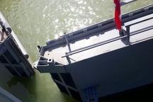 بهره برداری از نخستین قفل کشتیرانی ایران بر روی سد سلولی رودخانه بهمنشیر  احیای ۳۲ هزار هکتار نخلستان در آبادان و خرمشهر