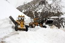لغزندگی تمامی  محورهای ارتباطی چهارمحال وبختیاری برف و باران در گردنه ها