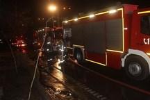 مخزن۵ میلیون لیتری مازوت در مشهد دچار حریق شد