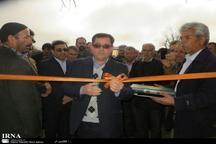 چهار پروژه عمرانی در خلیل آباد افتتاح شد