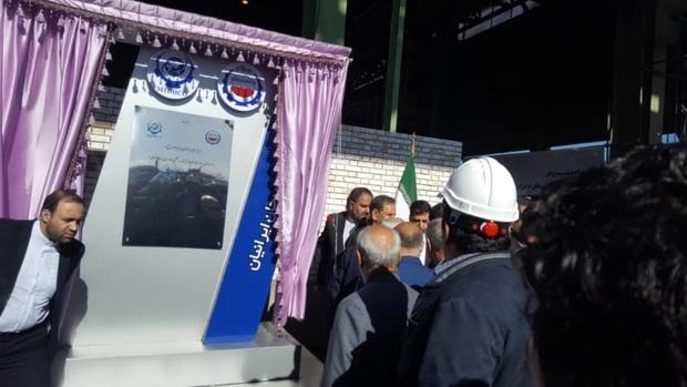 پروژه ملی فولادسازی بردسیر افتتاح شد