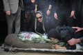 مراسم خاکسپاری پیام صابری+ تصاویر / گزارش کامل