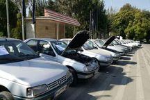 ۲۵۷ خودرو سرقتی در سمنان کشف شد