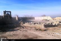 13 هزار مترمربع از اراضی کشاورزی ورامین آزاد شد