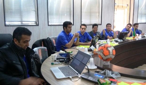 کلاس ارتقای داوری فوتبال درجه یک به ملی در یزد آغاز شد