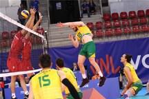 پیروزی والیبالیست های ایرانی مقابل کانگوروها + تصاویر