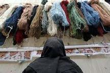 فرش دستباف چشم انتظار نگاه مهربان -حسین منصوری فر**