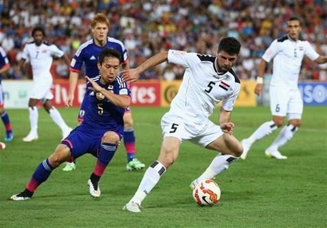توقف ژاپن صدرنشین برابر عراق در تهران