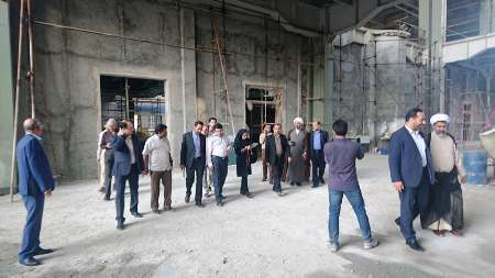 بازدید اعضاء کمیسیون فرهنگی مجلس از پروژه های فرهنگی نیمه تمام بندرعباس