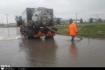 40 مورد آبگرفتگی در معابر مشهد رخ داد