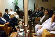 بررسی وضعیت خسارات سیل در ایرانشهر با حضور نماینده وزیر نیرو