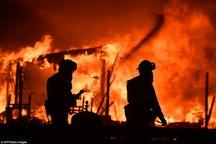 آتش سوزی گسترده در کالیفرنیا+ تصاویر
