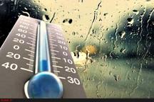 تداوم بارش ها و کاهش پنج تا ۱۰ درجهای دمای هوا در  مازندران