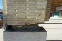 لاغر کردن غیراصولی ستونها، عامل بروز تخریب بخشی از بنای میدان ارگ