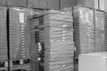 بیش از هفت میلیارد ریال کاغذ احتکار شده در تایباد کشف شد