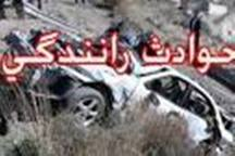 حادثه رانندگی در محور کمیجان - میلاجرد یک کشته به جا گذاشت