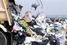 جمع آوری ۳۵۰ تن زباله از شهر زنجان
