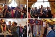 نمایشگاه سوغات و صنایع دستی در بویین زهرا گشایش یافت