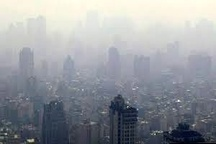 هوای پایتخت امروز در شرایط ناسالم قرار گرفت
