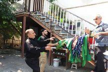 """""""علم گردش"""" سنت مازندرانیها در هفتمین روز از ماه محرم"""