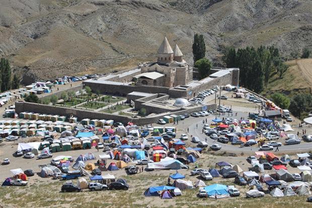 2600 نفر از قره کلیسای چالدران بازدید کردند