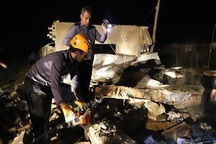 انفجار پیک نیک در یک خانه باغ دو کشته بر جای گذاشت
