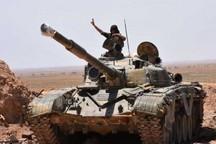 ارتش سوریه بخشهایی از