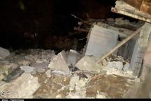 نشت گاز در بندر امام خمینی (ره) موجب انفجار  یک منزل مسکونی شد