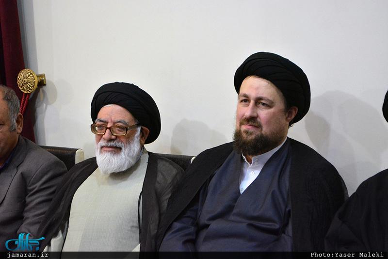 دیدار اعضای هیئت های مذهبی و پایگاه کمک رسانی به خانواده های بی سرپرست و ایتام مراغه با  سید حسن خمینی