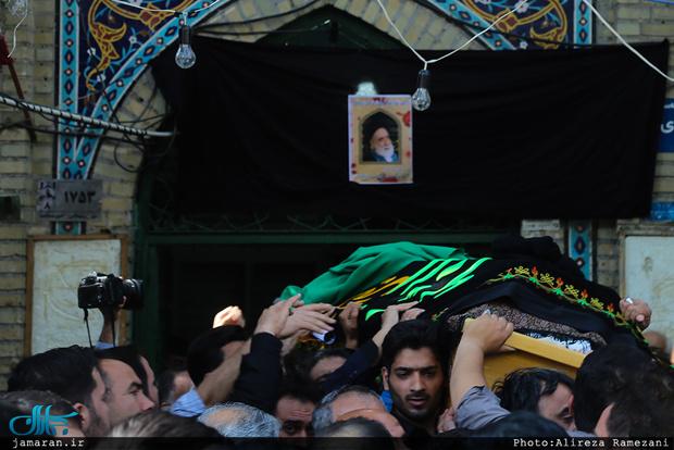 مراسم تشییع پیکر حجتالاسلام و المسلمین سید مهدی طباطبایی(ره) در تهران برگزار شد