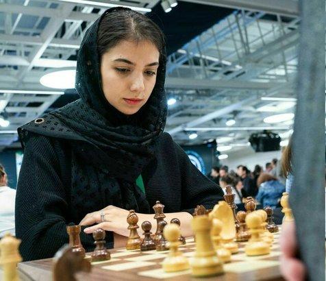 برد سارا خادم الشریعه در دور ششم مسابقات ایسی اسکایر