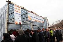 آغاز مرحله دوم عرضه میوه ستاد تنظیم بازار در قزوین  توزیع میوه تا پایان تعطیلات نوروزی