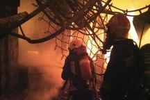 بازار تاریخی تبریز آتش گرفت