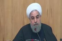 دکتر روحانی: مبارزه با قاچاق را باید از مرزها آغاز کرد