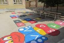 حیاط پویا در 40 درصد مدارس خراسان شمالی اجرا شد