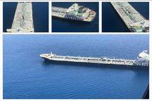 خروج نفتکش های حادثه دیده از آب های ایران