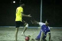 تیم فوتبال ساحلی پیام کویر اردکان یزد از شهریار ساری شکست خورد