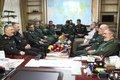 دیدار فرماندهان نیروی دریایی ارتش و سپاه  + عکس