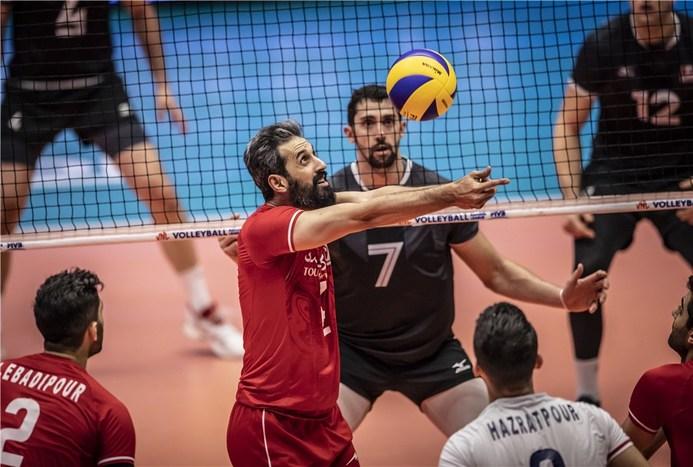 خوش خبر: مصدومان تیم ملی والیبال به بازی امروز می رسند/ ویدیو