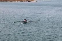 برگزاری اردوی تیم ملی قایقرانی روئینگ در ابهر