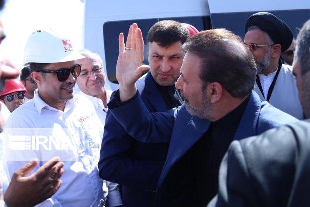 رئیس دفتر رئیس جمهور از پالایشگاه پارسیان مُهر بازدید کرد