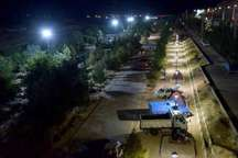 تامین روشنایی بوستان ها،یکی از مطالبات مردم شاهرود در شب های تابستان