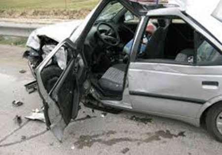 تصادف سه خودرو در جاده قاین - بیرجند 6 زخمی برجا گذاشت