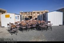 فعالیت 18 مدرسه سه شیفته در مناطق زلزله زده سرپل ذهاب 36 مدرسه ساخته می شوند