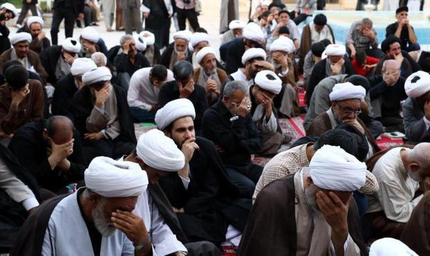 آیین سالگرد حمله رژیم پهلوی به مدرسه فیضیه قم برگزار شد