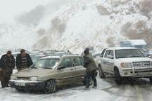 امدادرسانی هلالاحمر بانه به ۷۰۰ مسافر گرفتار در برف و کولاک