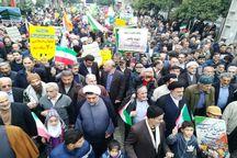 حضور وحدت بخش مردم، بیانگر حمایت از چهاردهه انقلاب است