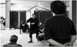 گلاب آدینه در نقش سیاه باز/ عکس