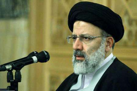 حجت الاسلام رئیسی: حضور مردم سایه جنگ را از کشور برداشته است